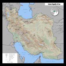 Geography of Iran - Wikipedia