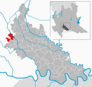 Casaletto Lodigiano - Image: Map IT Lodi Casaletto Lodigiano