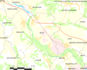 Map commune FR insee code 64396.png
