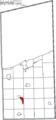 Map of Ashtabula County Ohio Highlighting Roaming Shores Village.png