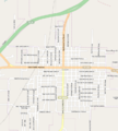 Map of Cooper Texas OSM.png