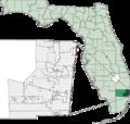 Map of Florida highlighting Hillsboro Beach.png