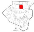 Map of Hampton Township, Allegheny County, Pennsylvania Highlighted.png