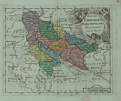 Map of Kiev Namestnichestvo 1796 (small atlas).jpg