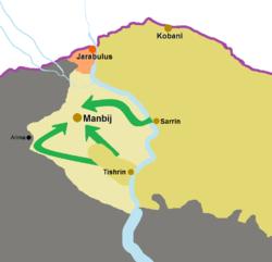 Map of Manbij offensive (2016).png