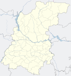 Sarov is located in Nizhny Novgorod Oblast