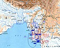 Map of Tibet, Bhutan, India and the Burma Road, from- Allied Third Burma Campaign Apri 1-May 1945 (cropped).jpg