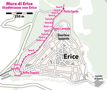Map of the Mura di Erice.png