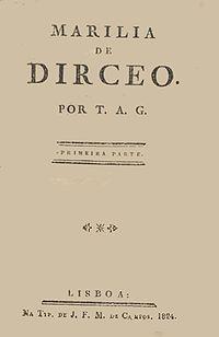 Marília de Dirceu cover