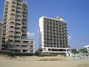 Varosha, Famagusta - Abandoned hotels in Varosha