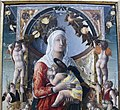 Marco zoppo, madonna col bambino e otto angeli, 1455, 02.JPG