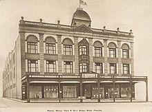 Newtown Store, 1912