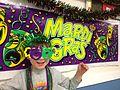 Mardi Gras in Purple and Green.JPG