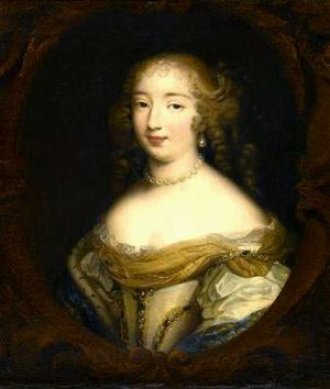 Cosimo III de' Medici, Grand Duke of Tuscany - Marguerite Louise d'Orléans, Cosimo's wife, after Louis Edouard Rioult
