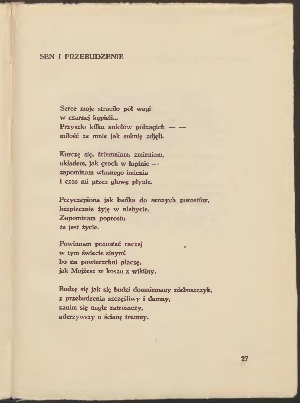 Stronamaria Pawlikowska Jasnorzewska Surowy Jedwabdjvu