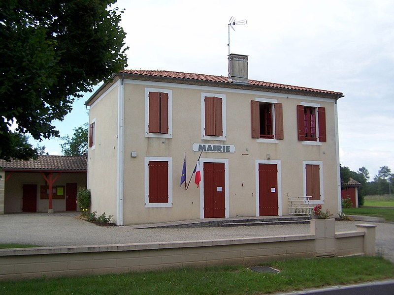 Town hall of Marions (Gironde, France)