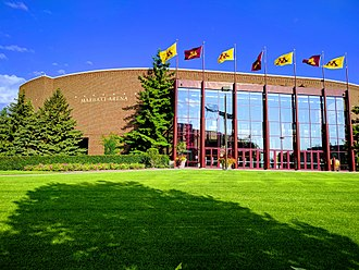 3M Arena at Mariucci - 3M Arena at Mariucci exterior