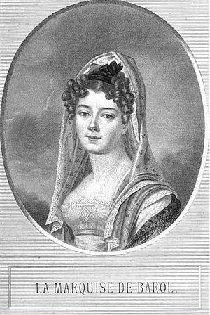 Juliette Colbert de Barolo - Image: Marquise de Barol