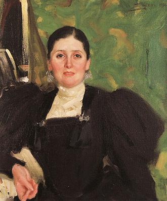Max Liebermann - Martha Liebermann by Anders Zorn, 1896
