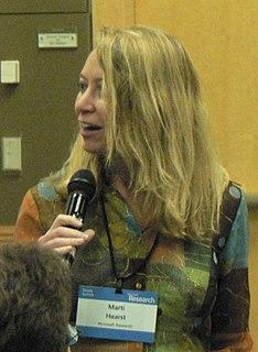 Marti Hearst American computer scientist