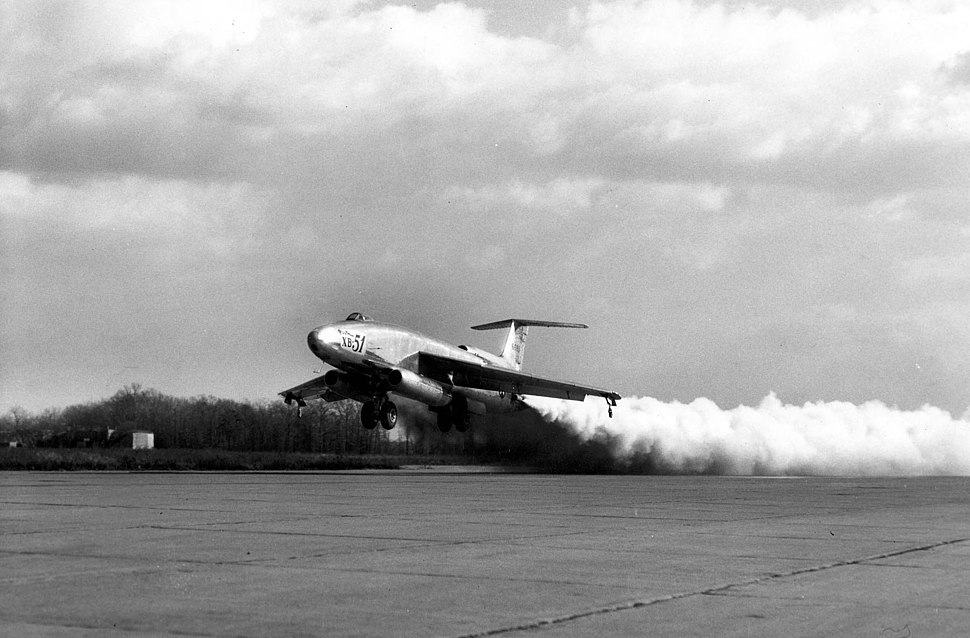 Martin XB-51 rocket-assisted take off 061026-F-1234S-013