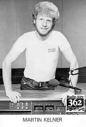 Martin Kelner - Martin Kelner at Radio Aire in 1982