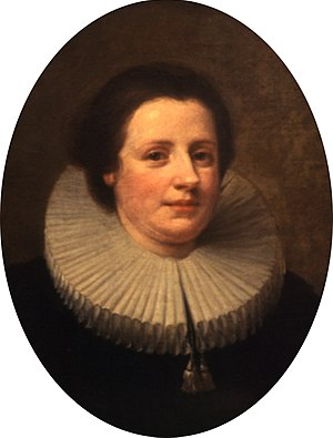 Hogarth's Servants - Mary Lewis, who may have served as the model for one of the heads