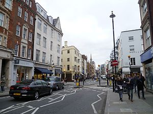 Marylebone High Street - Looking south down the High Street