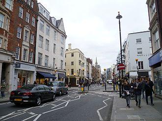 Marylebone High Street - Looking south down the High Street