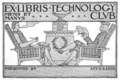 Massachusetts Institute of Technology Technology Club bookplate.png