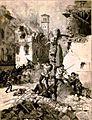 Matania Edoardo Episodio delle giornate di Brescia xilografia 1889.JPG