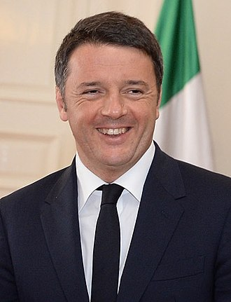 Third Way - The former Italian Prime Minister Matteo Renzi is considered a Third Way politician.
