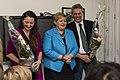 May-Britt Moser og Edvard Moser med statsminister Erna Solberg, NTNU 2014-03-04.jpg