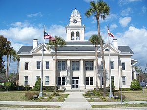 Lafayette County Courthouse (Florida) - Lafayette County Courthouse