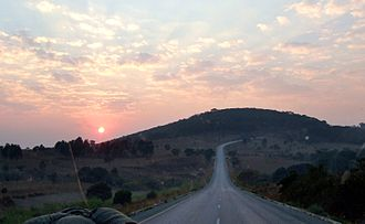 Mbeya - Road outside of Mbeya