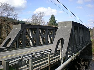 McMillin Bridge - Image: Mc Millin Bridge Top View