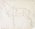 Measured Drawing of a Horse Facing Left (recto). MET DR474.jpg