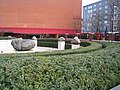 Meeting point by the British Library - geograph.org.uk - 2149148.jpg