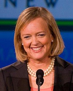 Meg Whitman American business executive