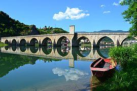 Mehmet pasa bridge boat