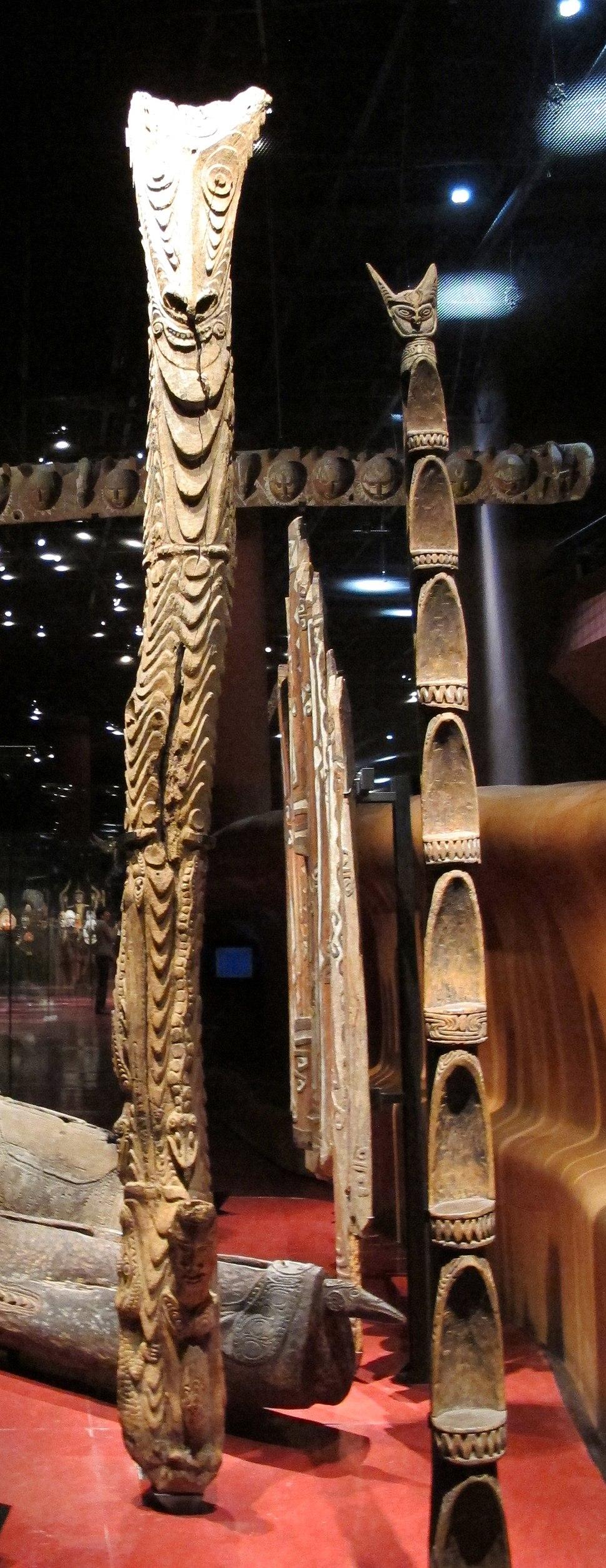 Melanesia, totem vari