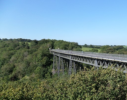 Meldon Viaduct, Granite Way, Okehampton, Devon