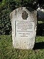 Memorial stone (2000), Várkert, 2020 Sárospatak.jpg