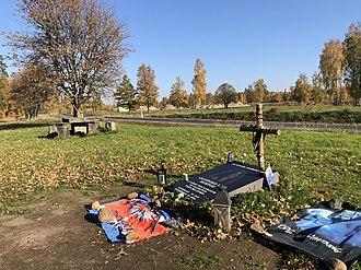 Cliff Burton - Cliff Burton memorial stone October 15, 2018