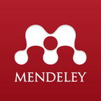 Mendeley logo, By Team Mendeley - Flickr: Mendeley Logo Vertical, CC BY 2.0, https://commons.wikimedia.org/w/index.php?curid=32979665