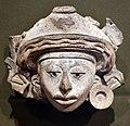 Mesoamerica, oaxaca, zapotechi, frammento di urna figurata, 300 ac-700 dc ca.jpg