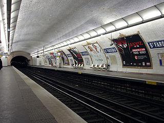 Saint-Fargeau (Paris Métro) Paris Métro station