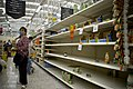 Mexico City Empty Shelves in a Supermarket Swine Flu.jpg