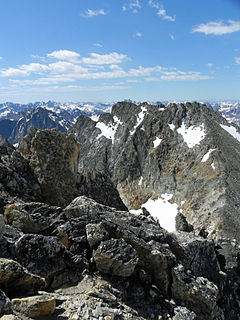 Mickeys Spire mountain in United States of America