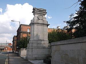 Midland Railway War Memorial - Image: Midland Railway War Memorial, Derby 10